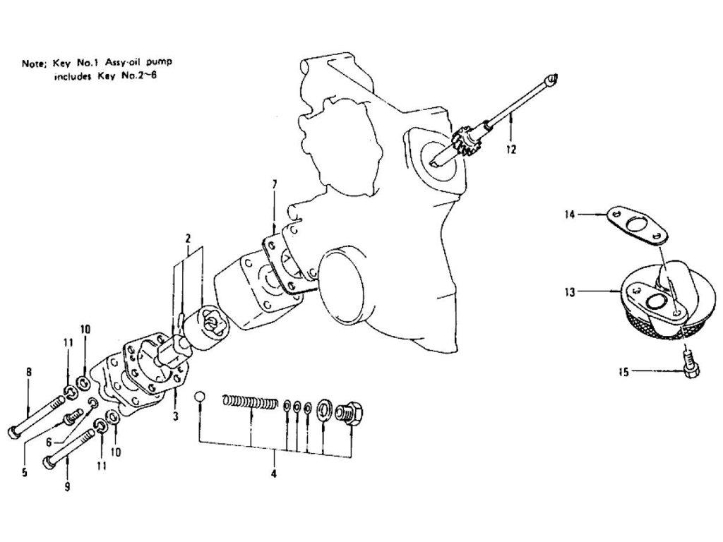 Oil Pump L28E