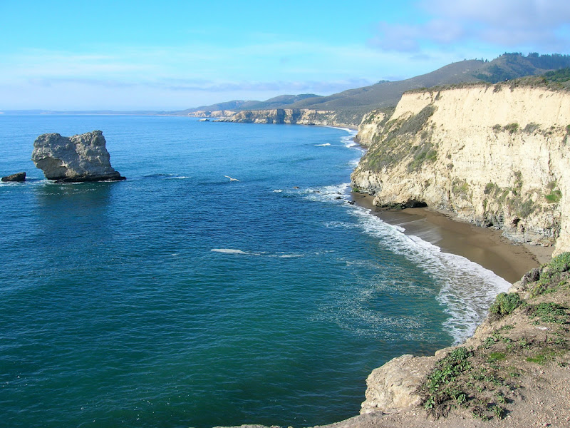 View from atop Arch Rock
