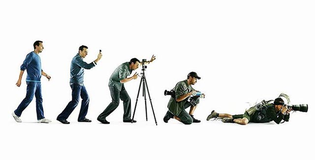 Evolution or De-evolution of a Photographer
