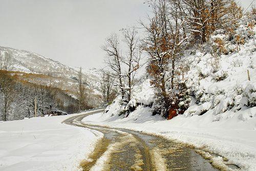 Carretera de Buiza (Concejo de Gordón.-León) Foto de Alfredo G. Álvarez