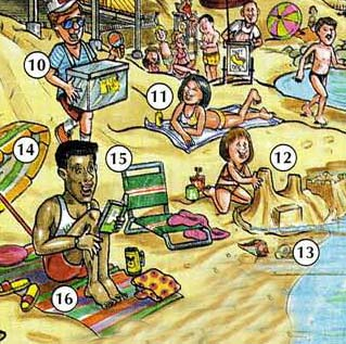 BEACH 5 Beach place english through pictures english through pictures