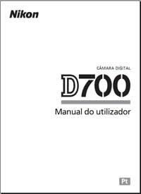 Download do manual da Câmera Nikon D700 em Português
