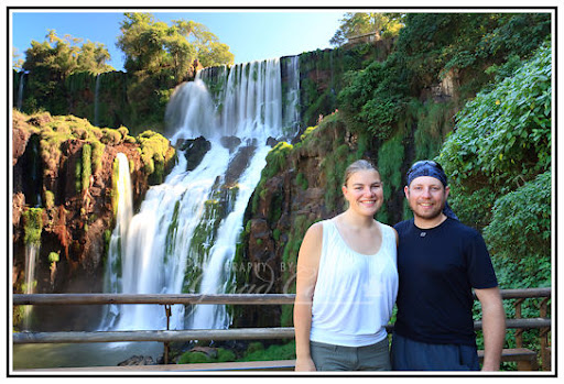 Us at Bossetti Falls, Iguazu
