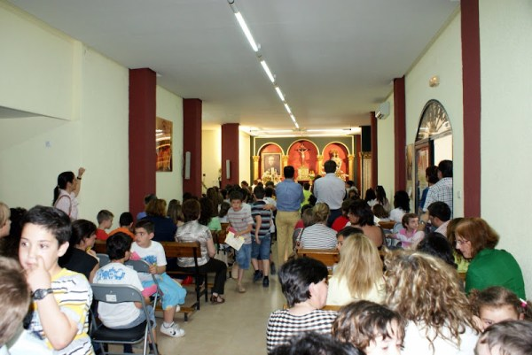 Primera Confesión de niños de 3º de Primaria