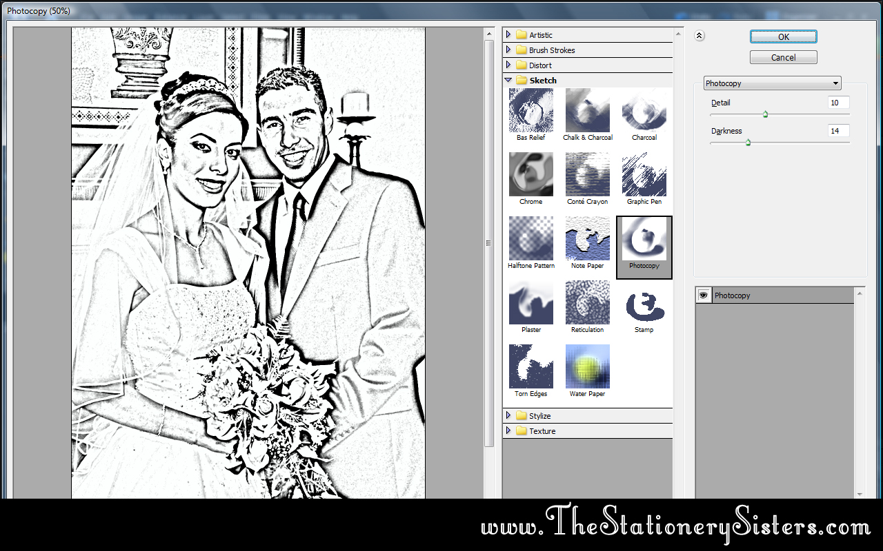 Easy Photoshop Coloring Book Tutorial She Dalia