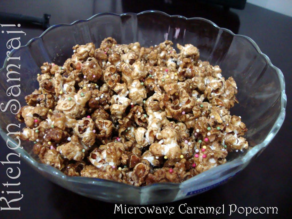 kitchen samraj microwave caramel popcorn