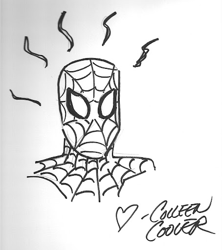 Spider Sense by Coleen Coover