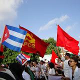 1 de Maio em Cuba. Clique na imagem e veja mais fotos...