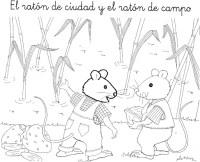 Actividades para colorear EL CAMPO Y LA CIUDAD - Imagui