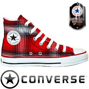 Converse Chuck Taylor All Star Chucks 102954 Rot Schwarz