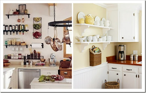 Shabby and Charme Mensole in cucina