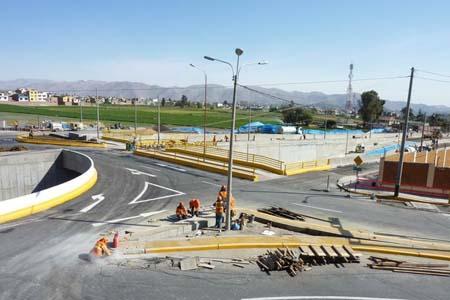 intercambio vial los incas - lambramani