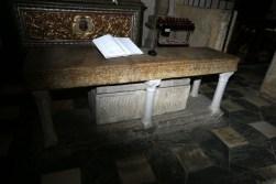 posmrtni ostanki sv. Modesta