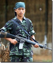 Hmar rebels in Mizoram