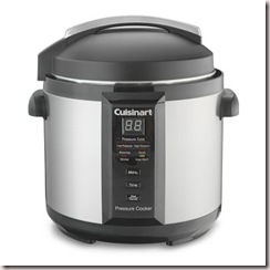 cuisineart pressure cooker