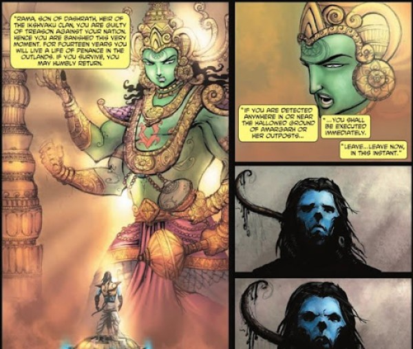 Ramayana Banishment