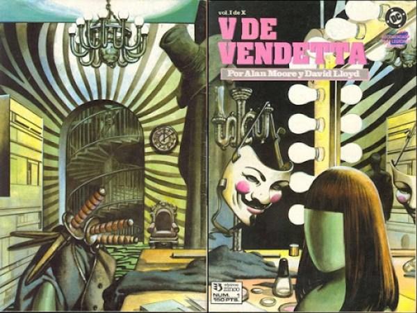 V  de Vendetta - página 1