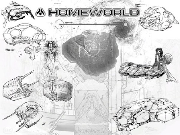 Homeworld Art Concept
