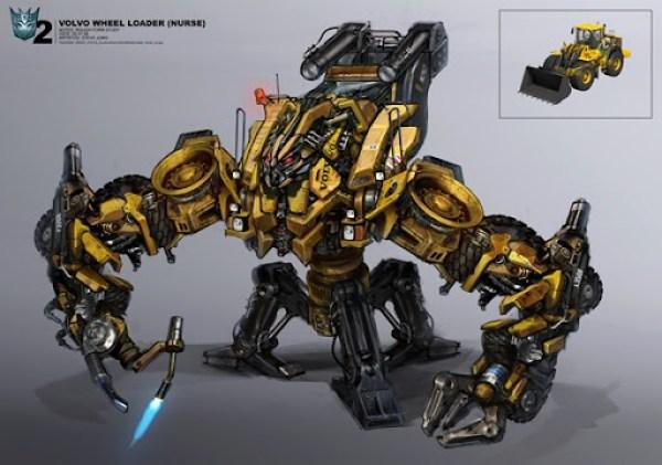 Transformers 3 volvo