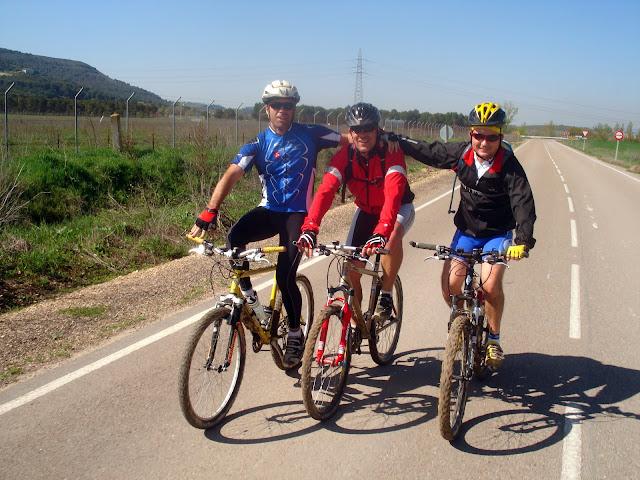 Gerardo, Sergio y Dani