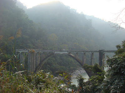 Bridge on Teesta River (Siliguri to Gangtok - NH31A Highway)