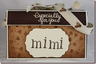 cookie box front