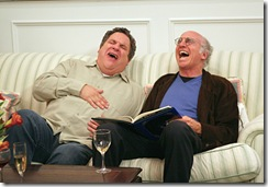 Curb Your Enthusiasm - Season 6 - Jeff Garlin and Larry David - Claudette Barius/HBO