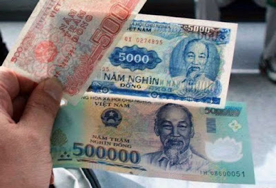北斗星 咖啡座: 一張50萬越南盾