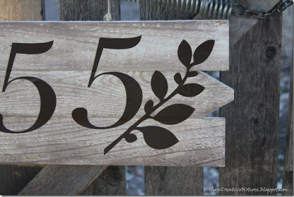 House Number Close Up