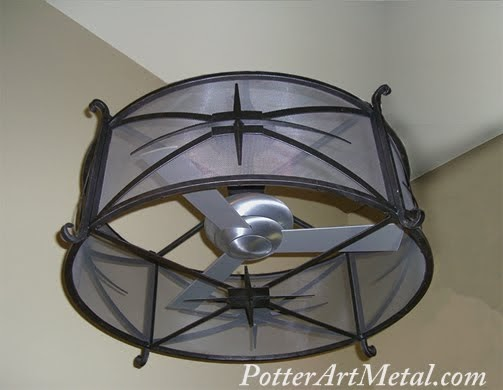 Potter Art Metal Studios Ever Heard Of A Ceiling Fan