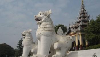 Chinthe at Mandalay Hill