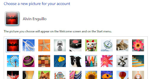 User Account Image
