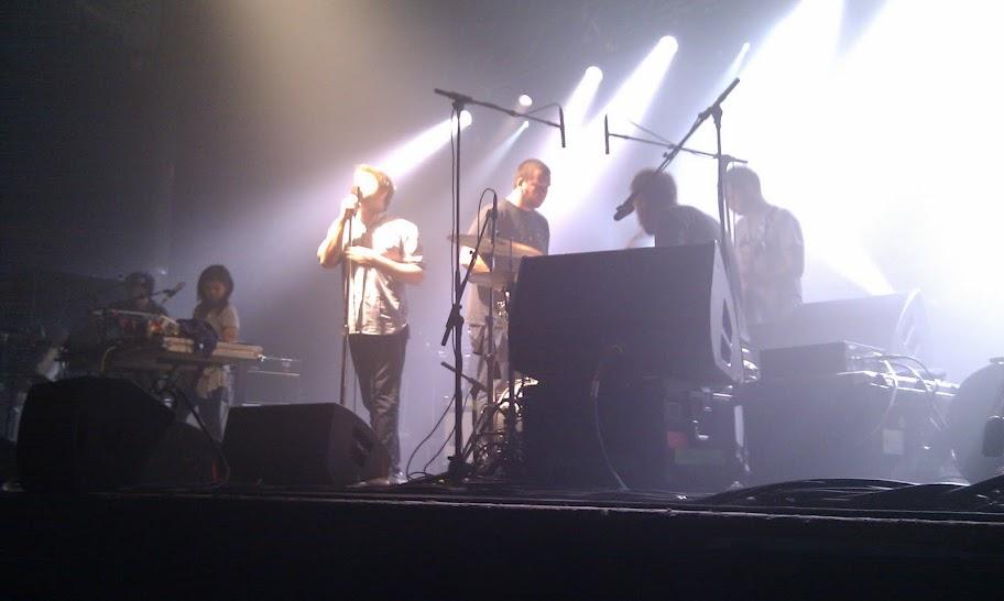 LCD Soundsystem, Razzmatazz, 6 de noviembre del 2010
