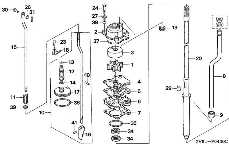 honda bf40 wiring diagram
