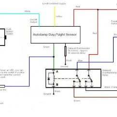 Wiring Diagram Photocell Light Switch 1978 Ford Electronic Ignition Auto-lamp System Retrofit For Truck Use - Ford-trucks.com
