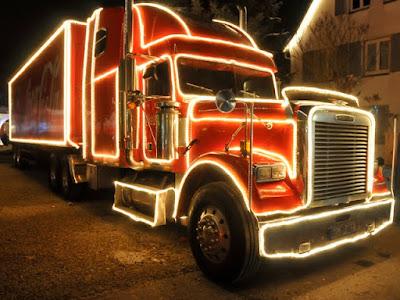 Der Coca-Cola-Weihnachtstruck