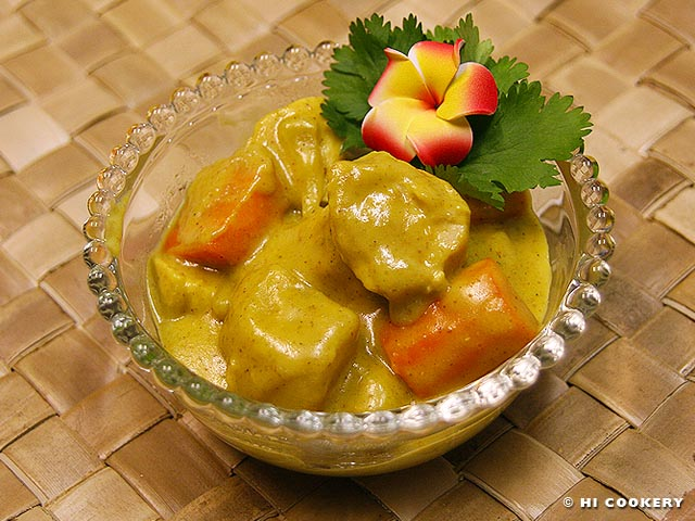 Hawaiian Chicken Curry