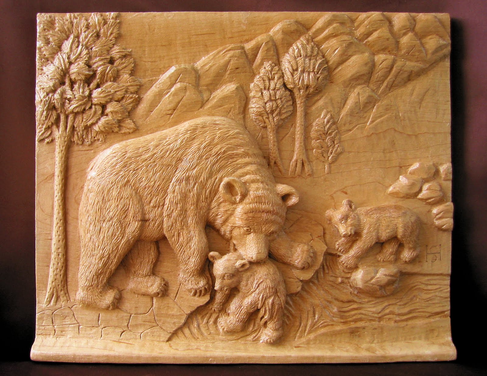 Relief carving dremel