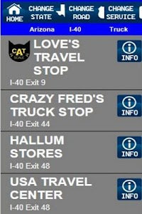 Truck Stops And Services screenshot 5