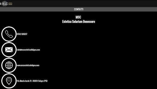 MSC Estetica screenshot 9