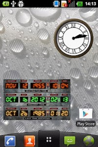 Time Circuits Widget screenshot 1
