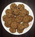 My organic chocolate chip pecan cookies