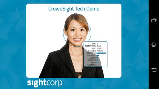 CrowdSight Face Analysis Demo screenshot 0