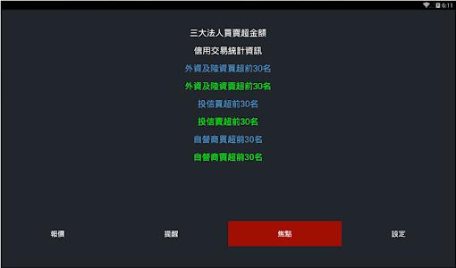 股票報馬仔 - 語音報價,台股,股市,股東會,三大法人 screenshot 9