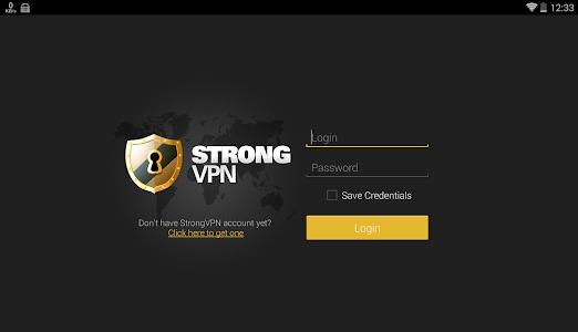 StrongVPN OpenVPN Client screenshot 3