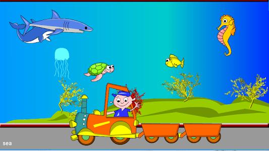 Kids Animal Game - Zoo Train screenshot 4