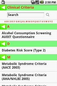 MedCalc 3000 Nutrition screenshot 3