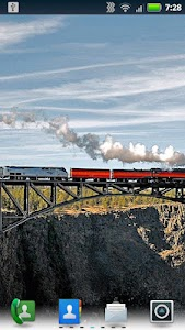 Trains on Bridges Wallpaper screenshot 3