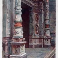 La rana della porta del Duomo di Como