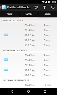 FitNotes - Gym Workout Log screenshot 06